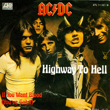 """Highway To Hell"" – AC/DC"