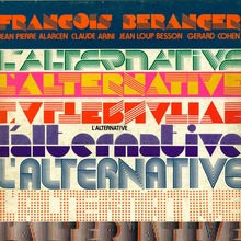 François Béranger – <cite>L'Alternative </cite>album art