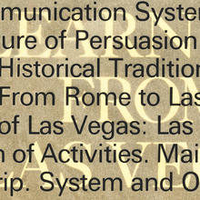 <cite>Learning from Las Vegas</cite>, first edition