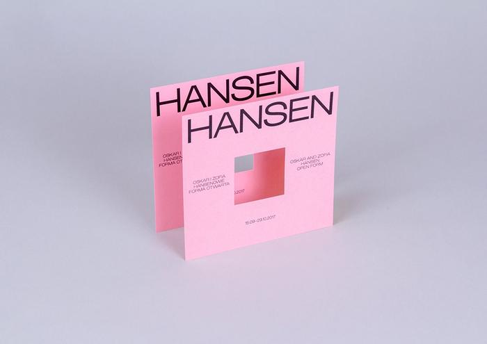 Oskar and Zofia Hansen exhibition 2