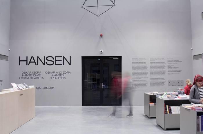 Oskar and Zofia Hansen exhibition 1