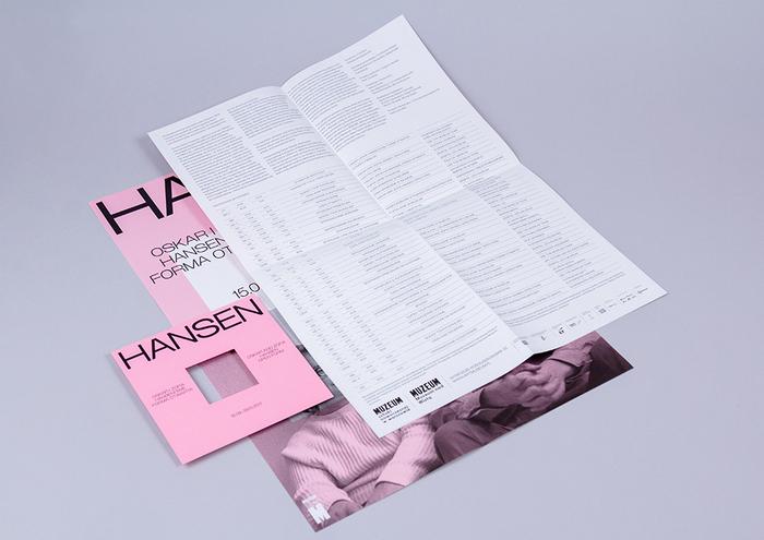Oskar and Zofia Hansen exhibition 3