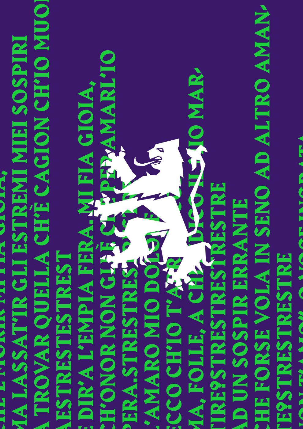 Gesualdo Reloaded – Matera 2019 - Fonts In Use