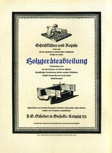 Ads by J.G. Schelter & Giesecke, 1925