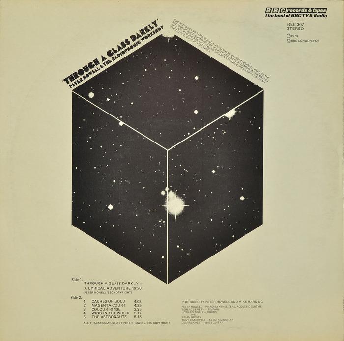 Peter Howell & The Radiophonic Workshop – Through A Glass Darkly album art 2