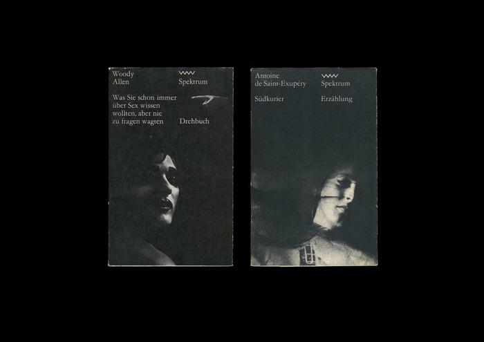 Woody Allen: Was Sie schon immer über Sex wissen wollten, aber nie zu fragen wagten (Spektrum 227, 1984)  and Antoine de St Éxupéry: Südkurier (Spektrum 14, 1969)
