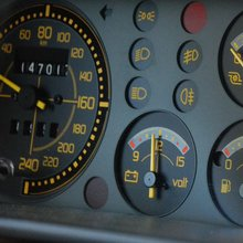 Lancia Delta Integrale dashboard