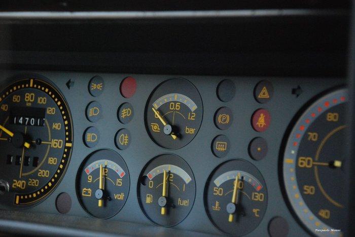 Lancia Delta Integrale dashboard