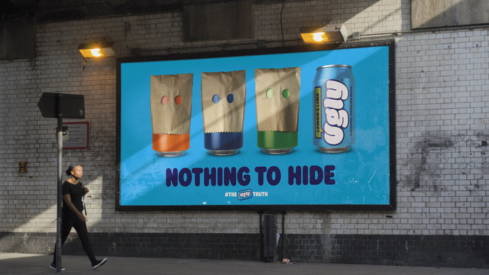 Ugly Drinks branding 3