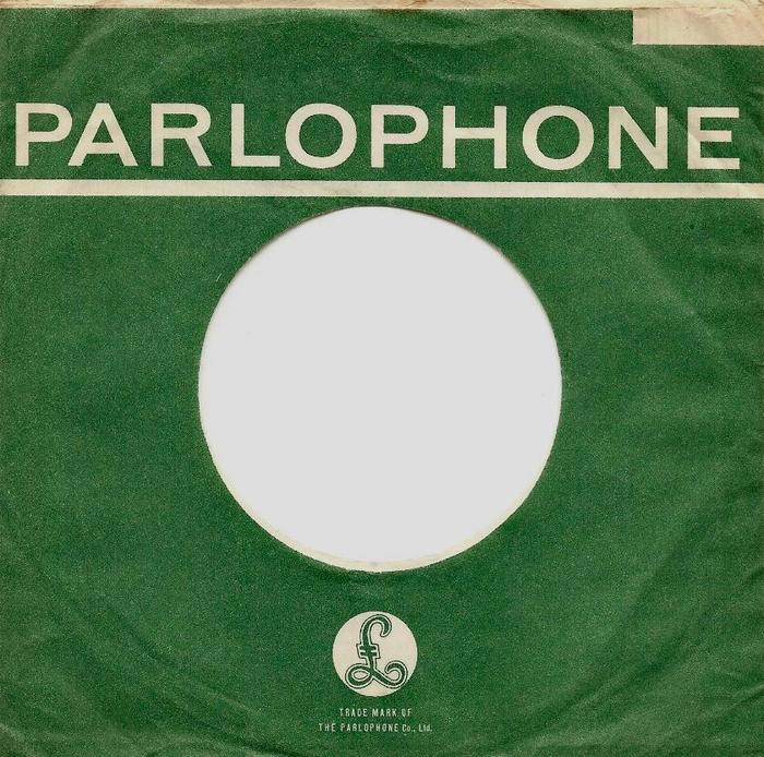 Parlophone Company sleeves (1963–65) 1