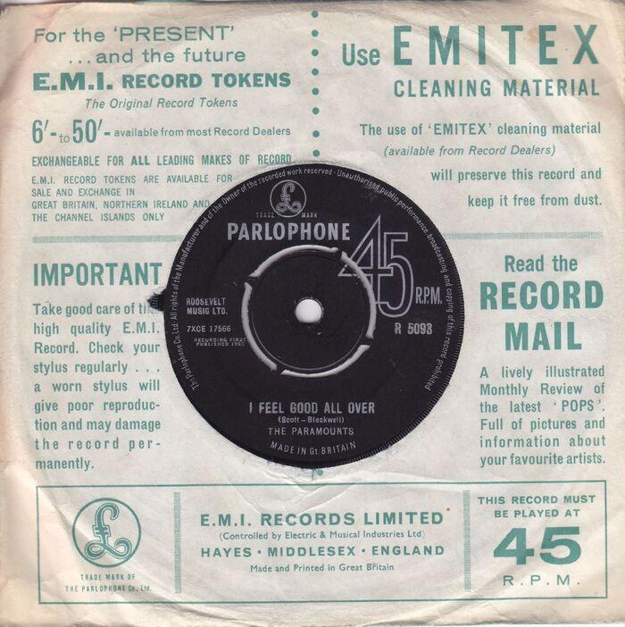 Parlophone Company sleeves (1963–65) 6