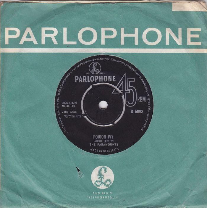 Parlophone Company sleeves (1963–65) 5