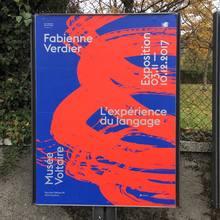 """Fabienne Verdier – <cite>L'expérience du language</cite>, Musée<span class=""""nbsp""""></span>Voltaire"""