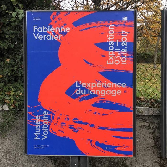 Fabienne Verdier – L'expérience du language, MuséeVoltaire 2