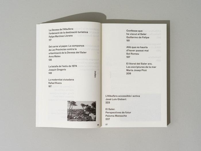 El Saler per al poble, ara! exhibition catalog 2