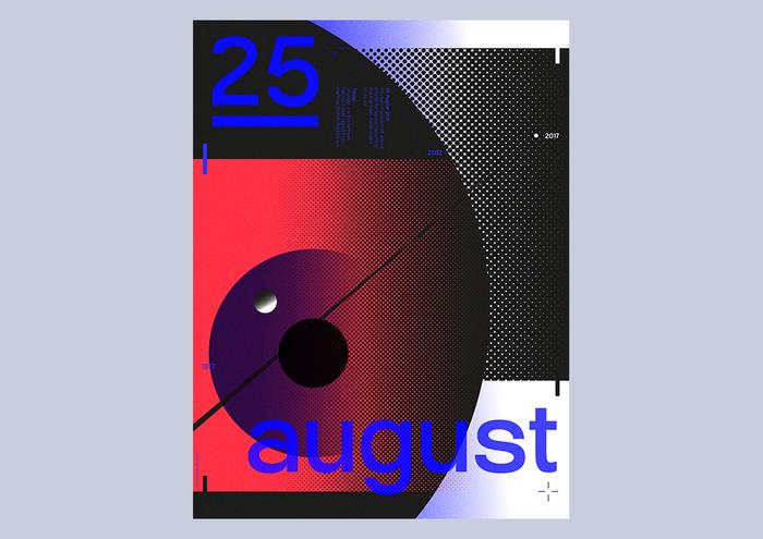 Kalenderboek Stichting Print: 25 August 2