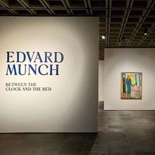 <cite>Edvard Munch: Between the Clock and the Bed</cite> at The Met