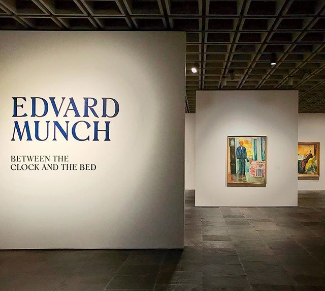 Edvard Munch: Between the Clock and the Bed at The Met 2