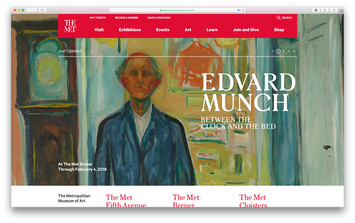 Edvard Munch: Between the Clock and the Bed at The Met 3