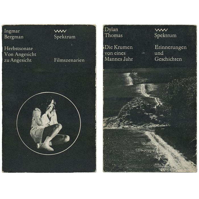 Ingmar Bergman: Herbstsonate / Von Angesicht zu Angesicht (Spektrum 137, 1980) and Dylan Thomas: Die Krumen von eines Mannes Jahr (Spektrum 89, 1976)