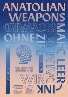 ELEVE Berlin poster