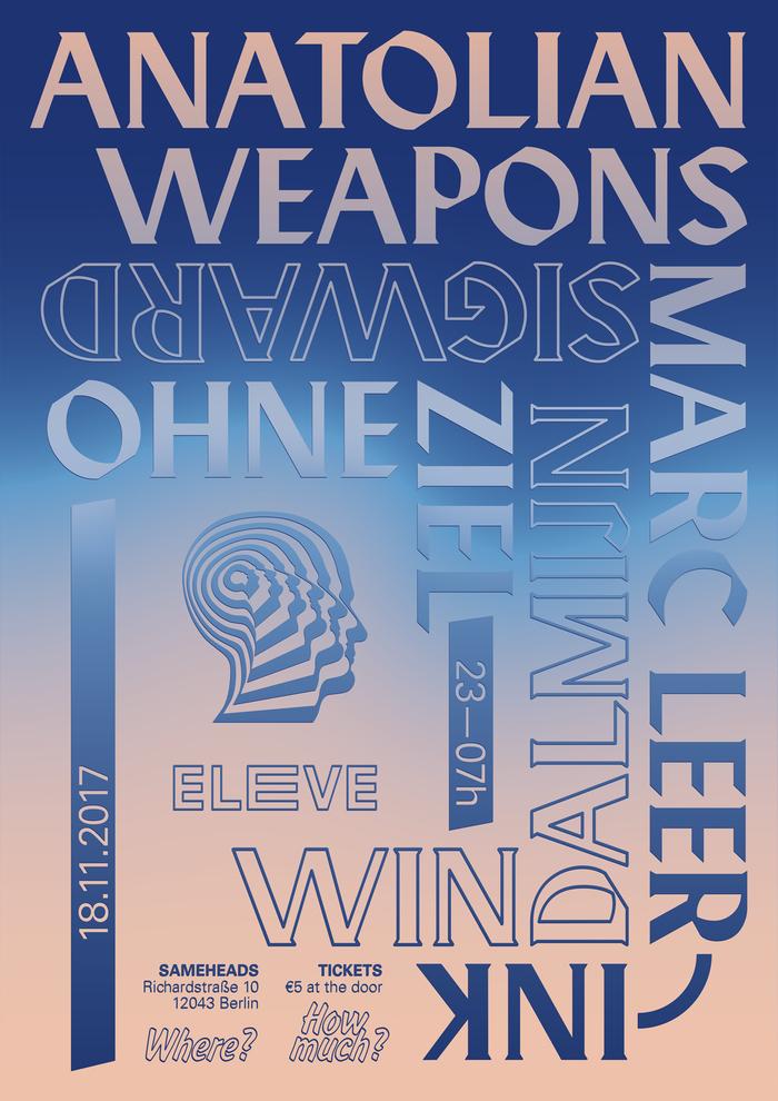 ELEVE Berlin poster 1