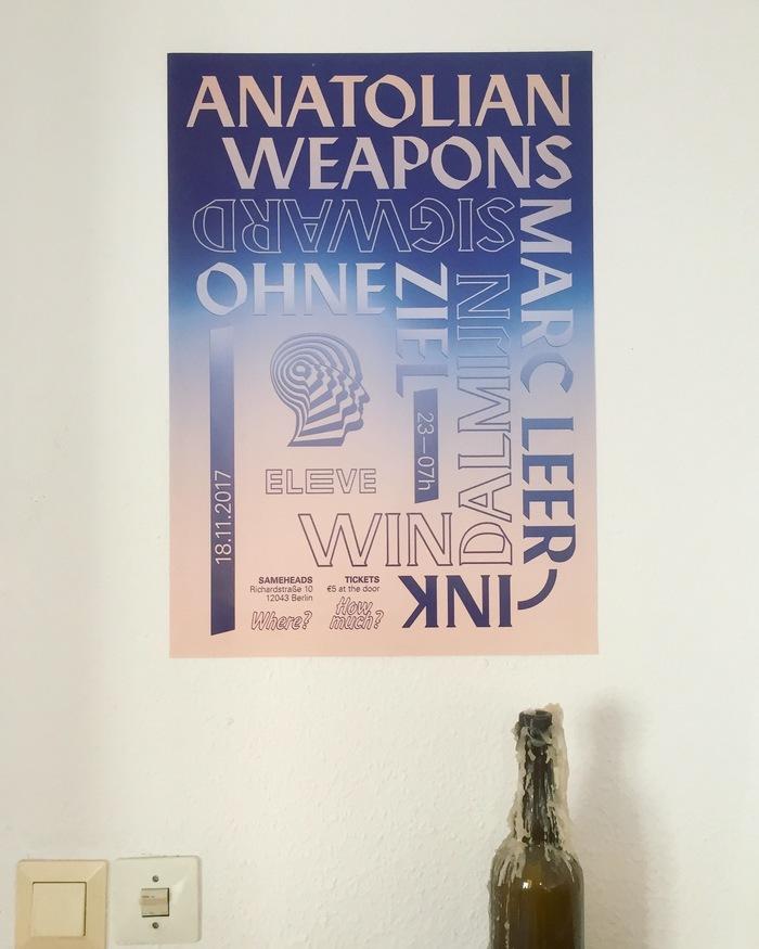ELEVE Berlin poster 2
