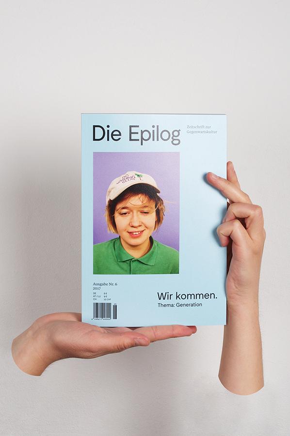 """Die Epilog, issue 6: """"Wir kommen. Thema Generation"""" 1"""