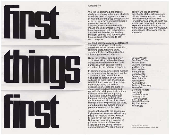 Adbusters: First Things First billboard 3