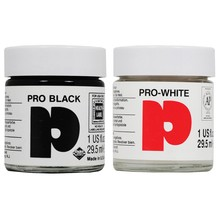 Daler-Rowney Pro Black and Pro White