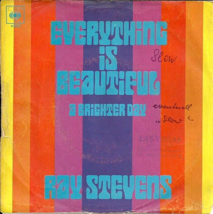 Ray Stevens — Everything Is Beautiful / A Brighter Day