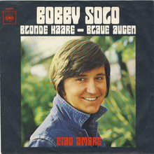 """Bobby<span class=""""nbsp""""></span>Solo — <cite>Blonde Haare – blaue Augen / Ciao</cite><span class=""""nbsp""""></span><cite>Amore</cite>"""
