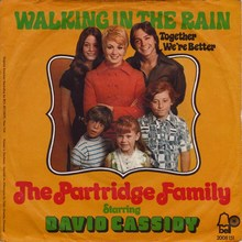 The Partridge Family – <cite>Walking In The Rain / Together We're Better</cite>
