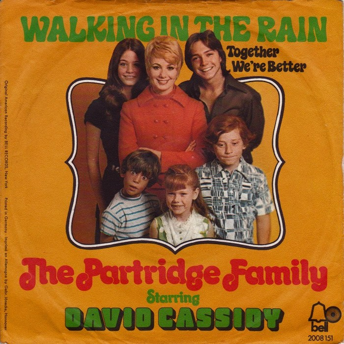 The Partridge Family – Walking In The Rain / Together We're Better