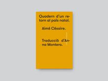 <cite>Quadern d'un retorn al país natal</cite> by Aimé Césaire