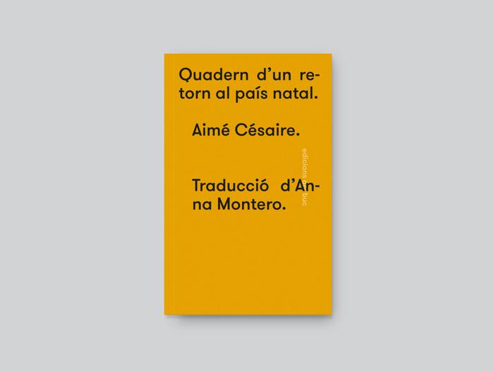 Quadern d'un retorn al país natal by Aimé Césaire