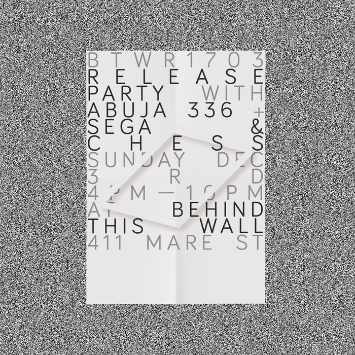 Behind This Wall BTWr1703 party poster 1