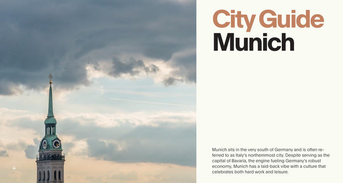 City Guide: Munich 1