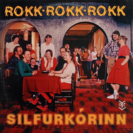 Silfurkórinn – Rokk rokk rokk album art 1