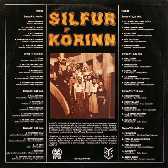 Silfurkórinn – Rokk rokk rokk album art 2