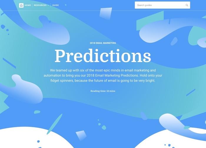 Campaign Monitor's 2018 Predictions 1