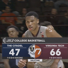 ESPN College Basketball graphics