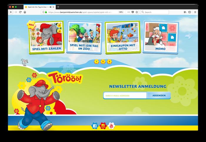 Benjamin Blümchen website 3