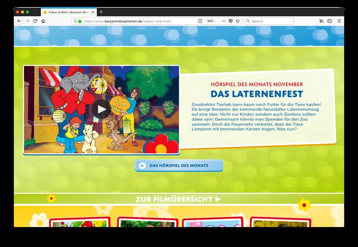 Benjamin Blümchen website 5