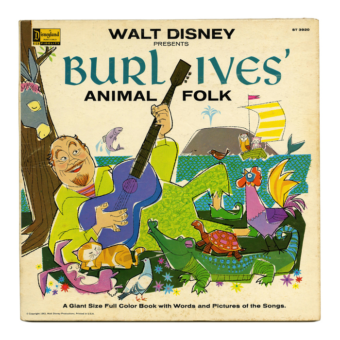 Walt Disney Presents Burl Ives' Animal Folk