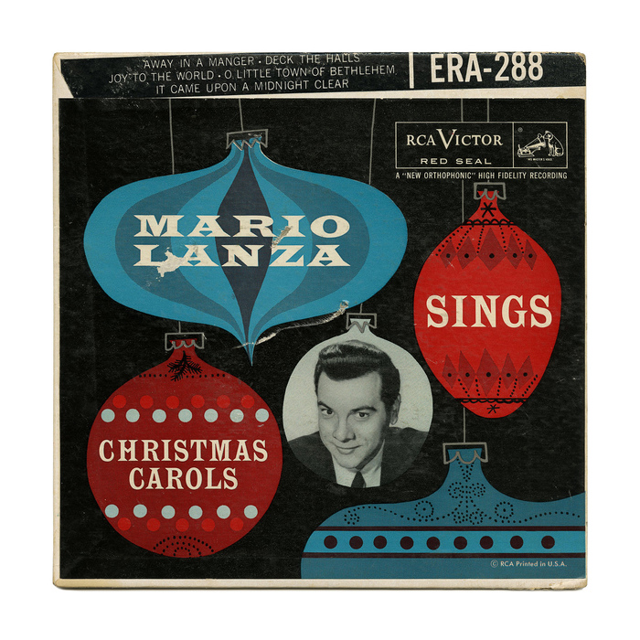 Mario Lanza Sings Christmas Carols album art
