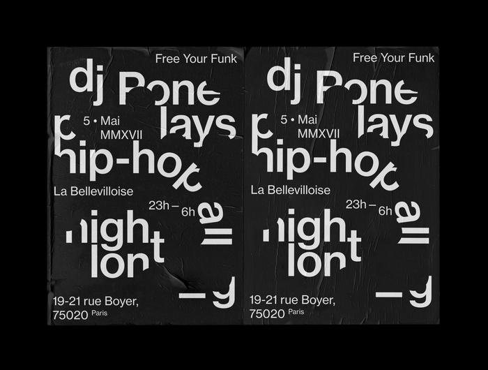 DJ Pone in Paris poster