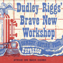 Dudley Riggs' Brave New Workshop / Experimental Theater Company matchbook
