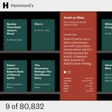 Hammond's Books website