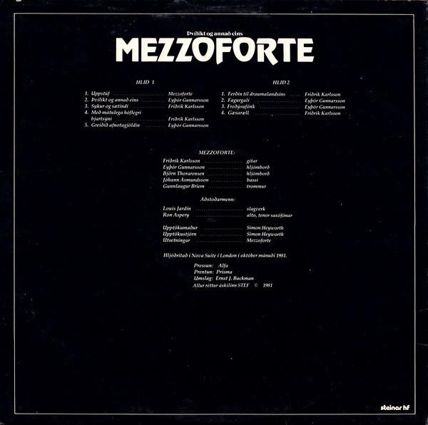 Mezzoforte – Þvílíkt Og Annað Eins (1981) and Surprise Surprise (1982) 2